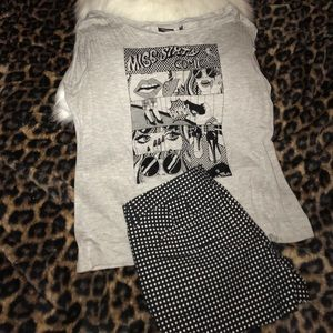 Miss Sixty Tops - 🔥Miss Sixty Collection 🔥Grey T-Shirt Sz L