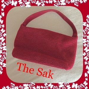 The Sak Handbags - The Sak by Elliott Luca / Red Crochet Bag / Purse