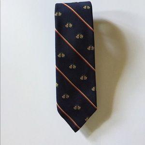 Robert Talbott Other - Robert Talbott Navy Christmas Tie