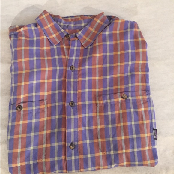 86 off patagonia other men 39 s patagonia organic cotton for Organic cotton button down shirts