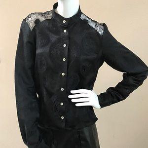 John Galliano Tops - Vintage Lace John Galliano Blouse