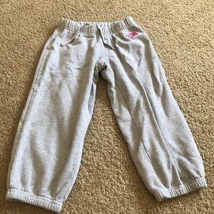 Grey North Face Capri Sweatpants