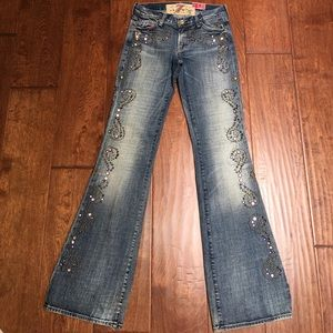 7 For All Mankind Flare the great China Wall Jeans