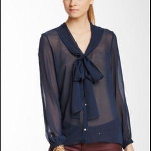 Paper Crown Tops - Silk blouse