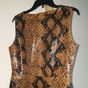 Selena Sport Dresses & Skirts - Snake skin dress!
