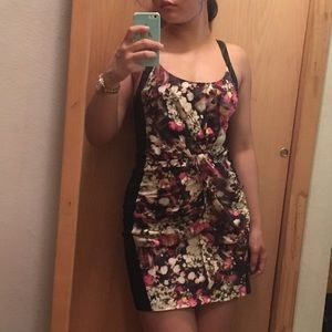 Rebecca Minkoff Dresses & Skirts - Rebecca Minkoff Silk Floral Bodycon Dress
