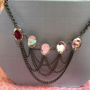 Jewelry - NWOT Silver statement necklace