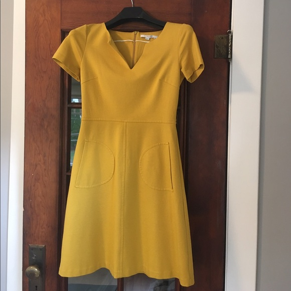 49 off boden dresses skirts boden yellow ponte dress for Boden yellow