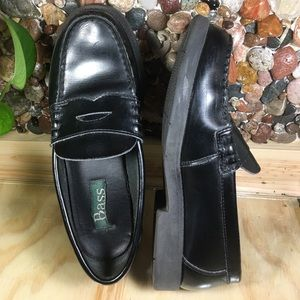 Bass Other - Black Penny Loafers from Bass Unisex Youth 3