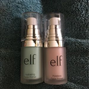 Elf primers!!used only once!! Hydrating & poreless