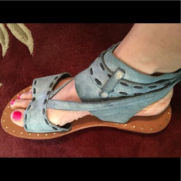 a8b1a153b6da Joe s Jeans Shoes - Joe s Jeans suede gladiator sandals ...