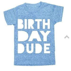"Ily Couture Other - ILY Couture ""Birthday Dude"" tee🎈🎂"