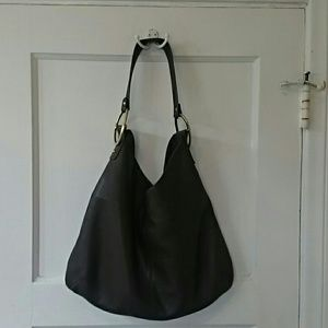 Alfani Handbags - Brown leather hobo.