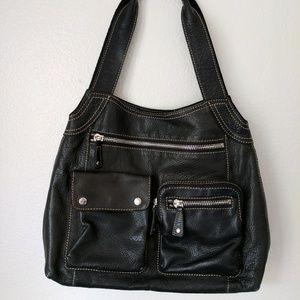 Fossil Handbags - Black Leather Fossil Handbag
