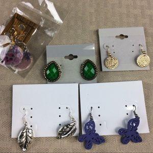 Jewelry - 5 Pretty Earrings