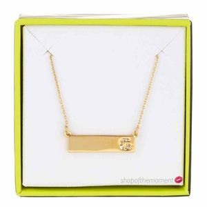  Baublebar ❉ 14K GP G Initial Necklace ❉ 
