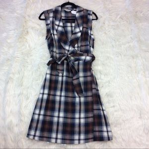 11.1.TYLHO ANTHROPOLOGIE  Size Medium Plaid Dress