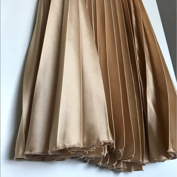 33 Off Asos Dresses Amp Skirts Asos Silk Pleated Maxi
