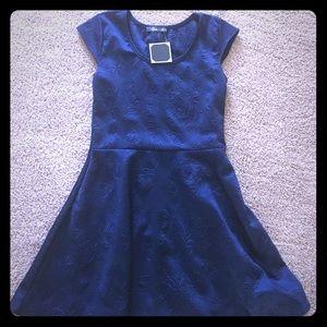 Pinc Premium Dresses & Skirts - Navy blue skater dress