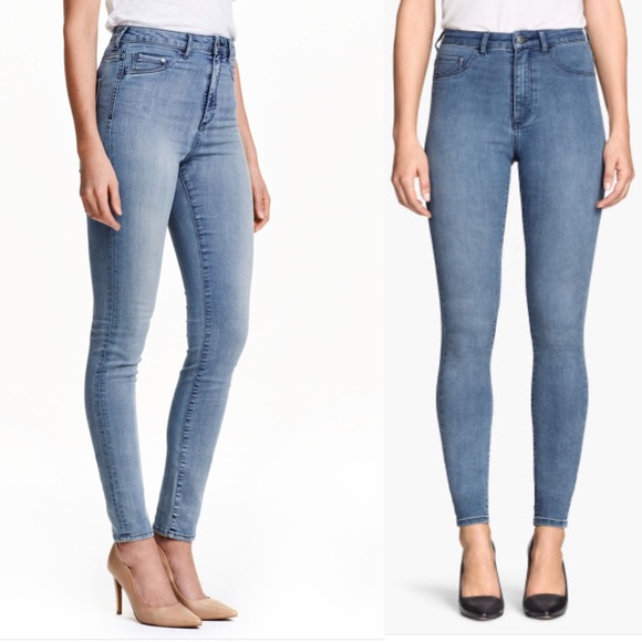 c613929670838 H&M Jeans | Hm Super Skinny High Waist Jeggings | Poshmark