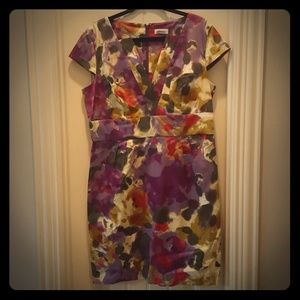 Calvin Klein Dresses & Skirts - Calvin Klein Multi Colored Floral Dress