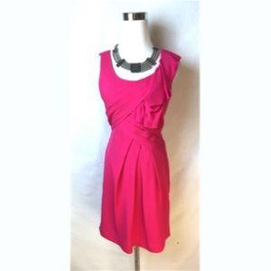 BCBG Maxazria pink Sheath Dress Size 0