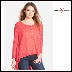 TUNIC Lightweight Tunic Pullover