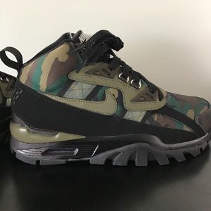 39aceac5462e4 Nike Shoes | Air Trainer Sc Sneakerboot Camo | Poshmark