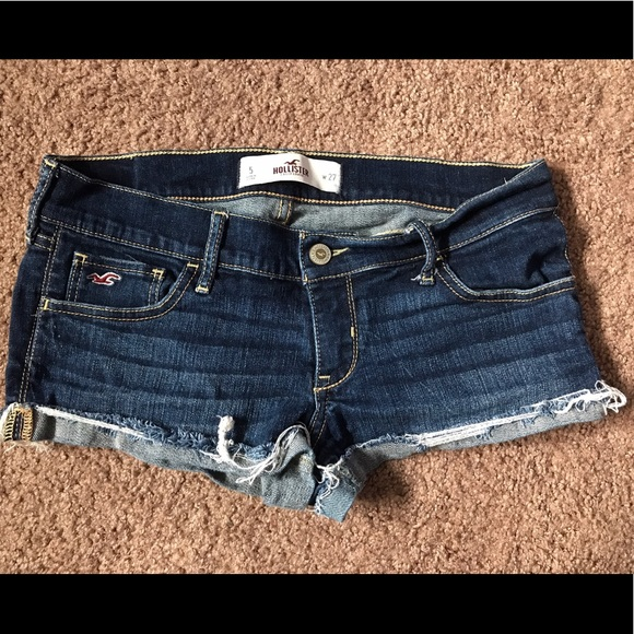 Hollister Pants - SOLD on Mercari! Hollister jean shorts