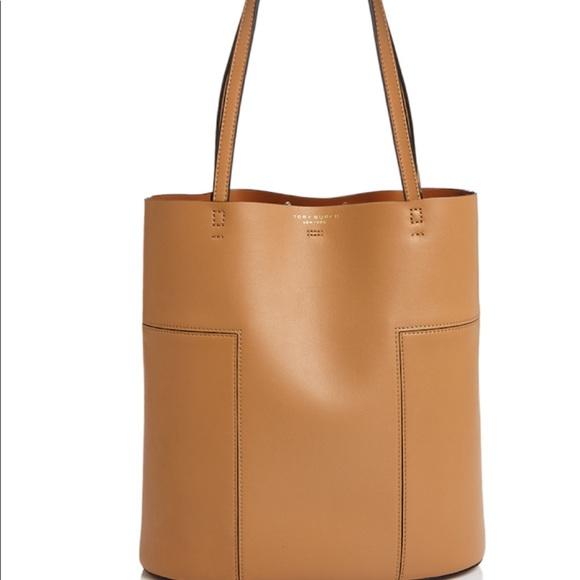 27e6461a802a Tory burch block t medium leather tote new. M 591b59f35c12f8050401519e