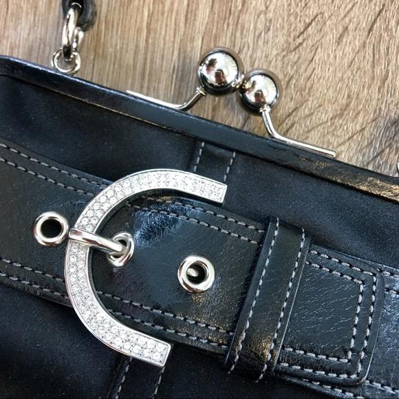 Coach Bags - Coach Swarovski Mini Bag with Kisslock