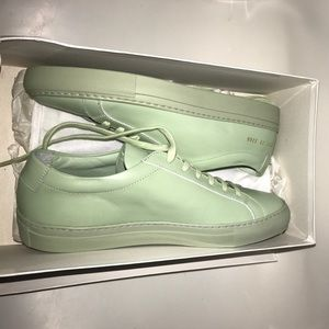 Common Projects Shoes - Women by common projects mint green size 39