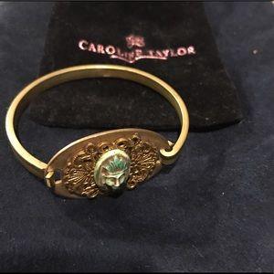 Jewelry - Antique cameo bracelet bangle artistic