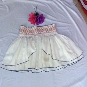 Free people mini skirt XS