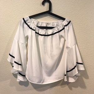 goodnight macaroon  Tops - NWT Goodnight Macaroon bell off the shoulder top