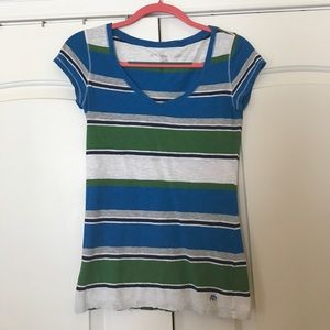 Tops - Striped Aeropostale fitted shirt