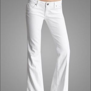 Paige- Laurel Canyon Low Rise Slim Bootcut Jeans