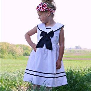 Other - Girls Classic Sailor nautical dress