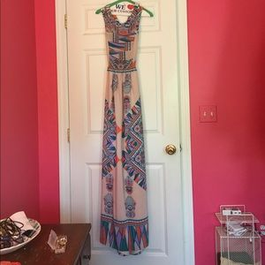 Lovers + Friends colorful maxi dress