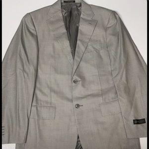 Corneliani Other - Corneliani - 48R Wool Blazer 2 Vent Gray NWT