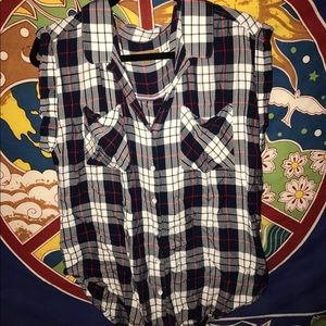 Jachs Tops - Jachs Girlfriend Short Sleeve Flannel