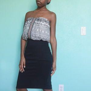 Trixxi Dresses & Skirts - Strapless Bodycon Dress