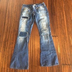 True Religion Denim - Women's True Religion Flare Vintage Jeans 27 x 30