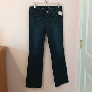 American Eagle Outfitters Denim - New American Eagle slim dark wash boot cut jeans!