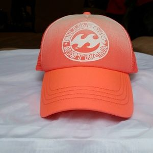 PRICE REDUCED Billabong Trucker Hat/snap back