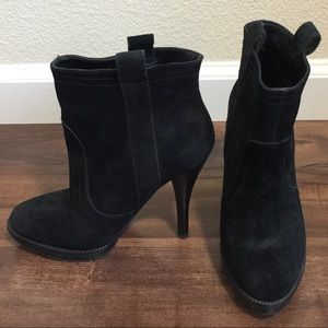 BCBGeneration Sandra Ankle Booties in Black Sz 5.5