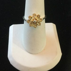 Genuine Dainty Citrine Ring