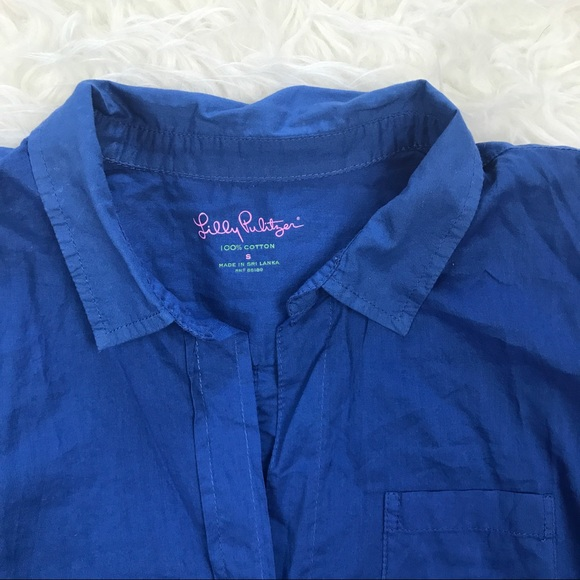 85 Off Lilly Pulitzer Tops Lilly Pulitzer Royal Blue