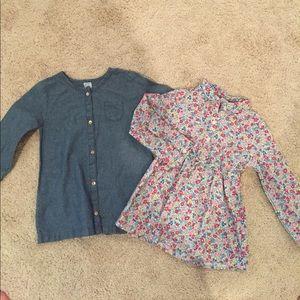 Carter's Other - Toddler girls long shirts