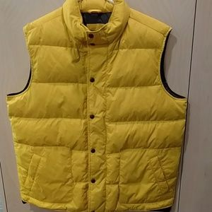 Lands'  end down vest